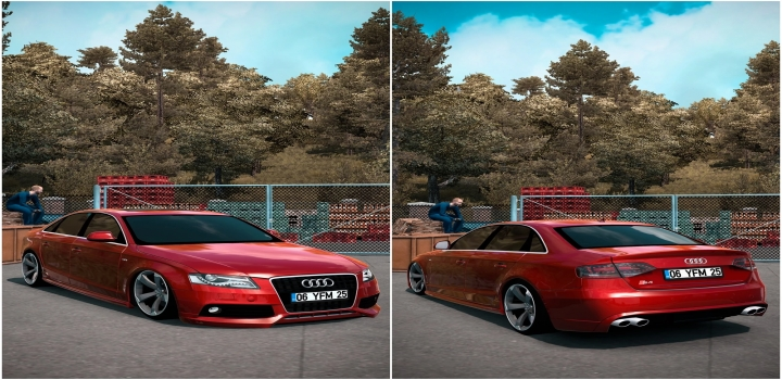 Photo of Audi S4 V2.0 ETS2 1.40