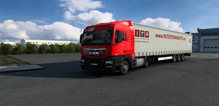 Photo of Combo Skin Intertransavto V1.0 ETS2 1.40