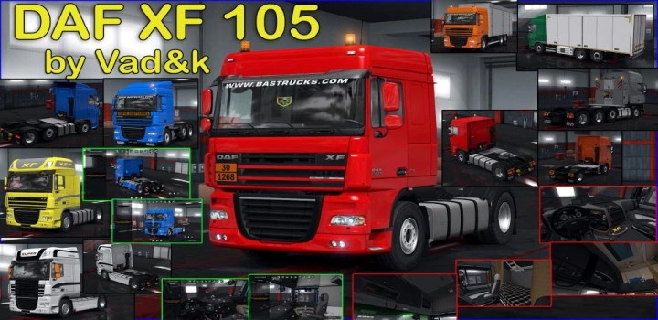 Photo of Daf Xf 105 V7.4 ETS2 1.40