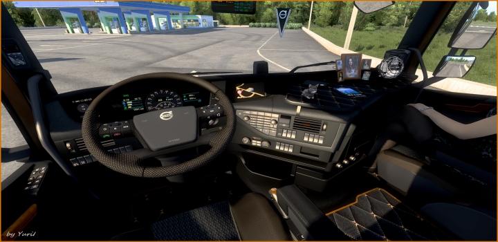 Photo of Dark Grey Interior Volvo Fh16 2012 V0.8 ETS2 1.40