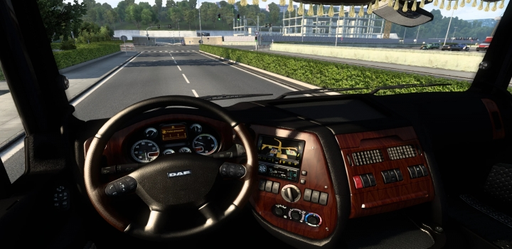 Photo of Dark Interior For Daf Xf 105 V3.01 ETS2 1.40