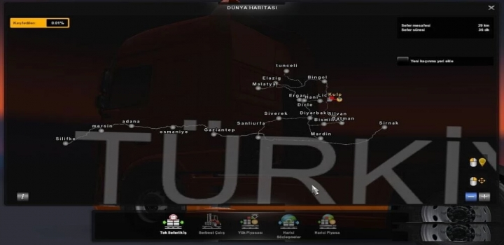 Photo of Diyarbakir Map Turkiye V1.6 ETS2 1.40
