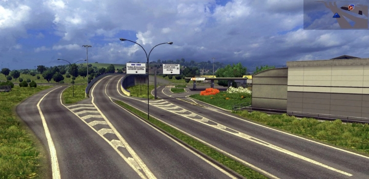 Photo of France Switzerland Germany Map V1.3.1 ETS2 1.40