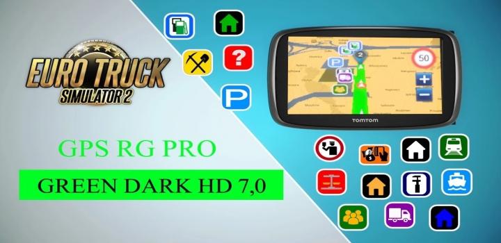 Photo of Gps Rg Pro Green Dark Hd V7.0 ETS2 1.40