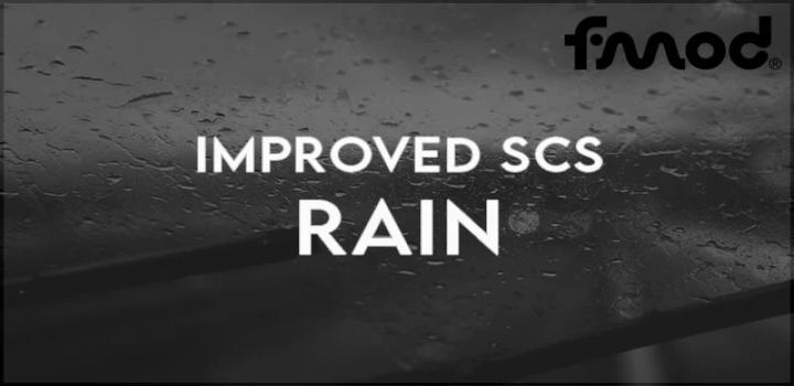 Photo of Improved Scs Rain V1.0 ETS2 1.40