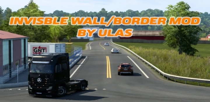 Photo of Invisible Wall/Border Mod By Ulas V1.0 ETS2 1.40