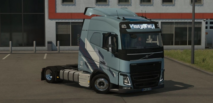 Photo of Low Deck Chassis Addon For Eugene Volvo Fh V1.5 Fixed ETS2 1.40