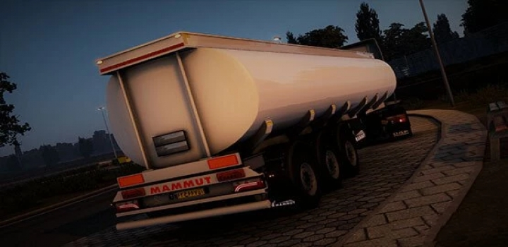 Photo of Mammut 3 Axles Tanker Trailer ETS2 1.40