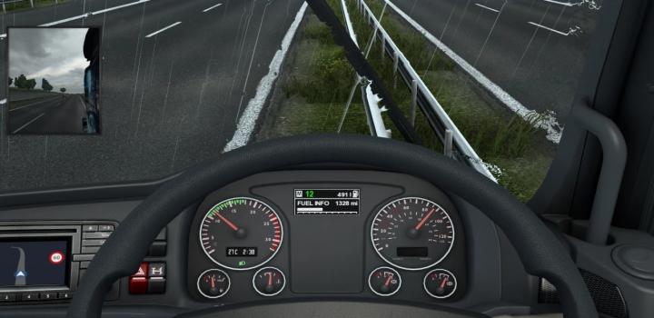 Photo of Man Tgx E6 Easy Read Dashboard V1.3 ETS2 1.40