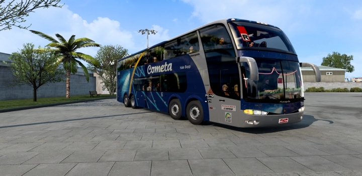 Photo of Marcopolo Paradiso G6 1800 Dd 8X2 ETS2 1.40