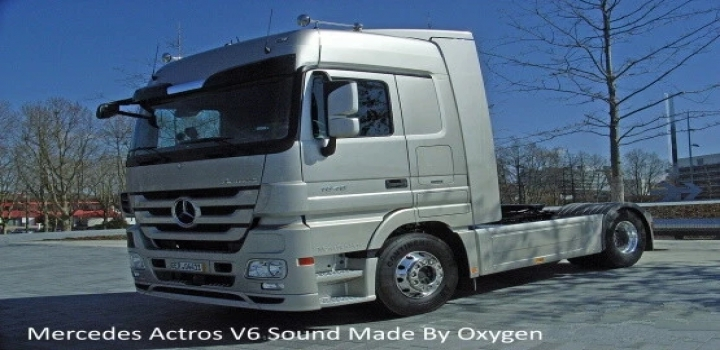 Photo of Mercedes Actros V6 Stock Sound V1.0 ETS2 1.40