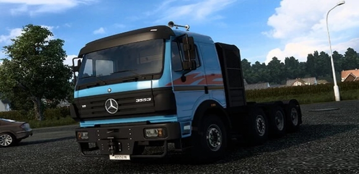 Photo of Mercedes-Benz Sk 8X4 Add-On ETS2 1.40