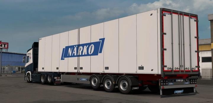 Photo of Narko Trailers V1.2.1 ETS2 1.40