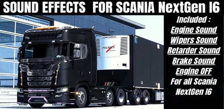 Photo of New Sound Effects For Nextgen Scania ETS2 1.40