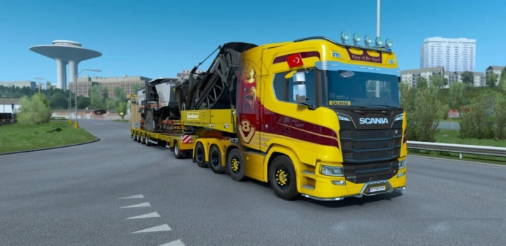Photo of New V8 Stock For Scania Next-Gen ETS2 1.40