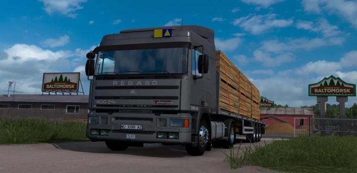 Photo of Pegaso Troner Truck ETS2 1.40