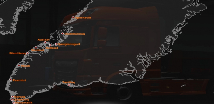 Photo of Project Greenland V0.20 ETS2 1.40