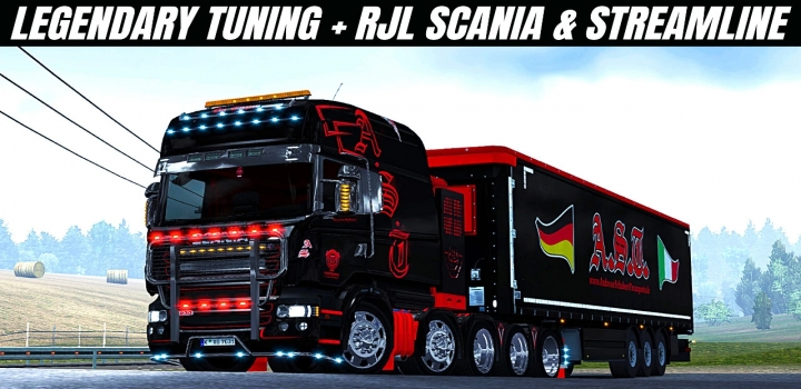 Photo of Scania Rjl Legendary Tuning Pack ETS2 1.40