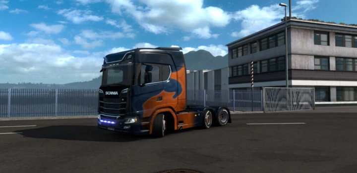 Photo of Scania S 2016 Abstract II ETS2 1.40