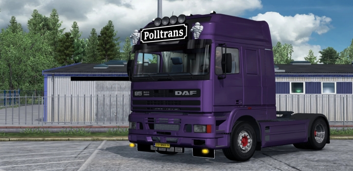 Photo of Slots For The Daf 95 Ati V1.0 ETS2 1.40