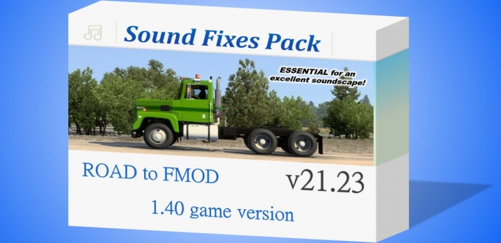 Photo of Sound Fixes Pack V21.23 ETS2 1.40
