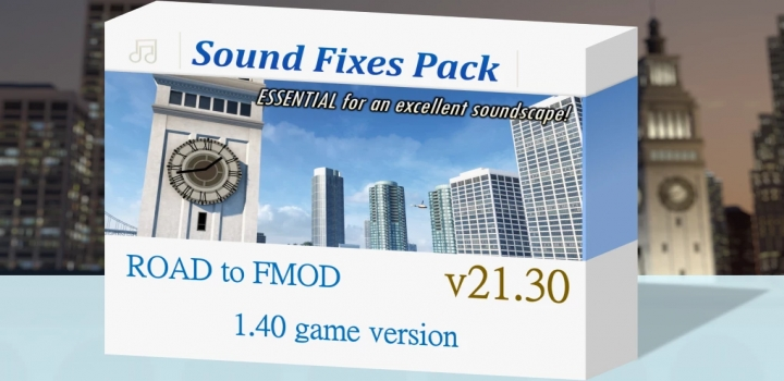 Photo of Sound Fixes Pack V21.30 ETS2 1.40