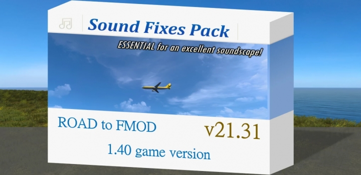 Photo of Sound Fixes Pack V21.31 ETS2 1.40