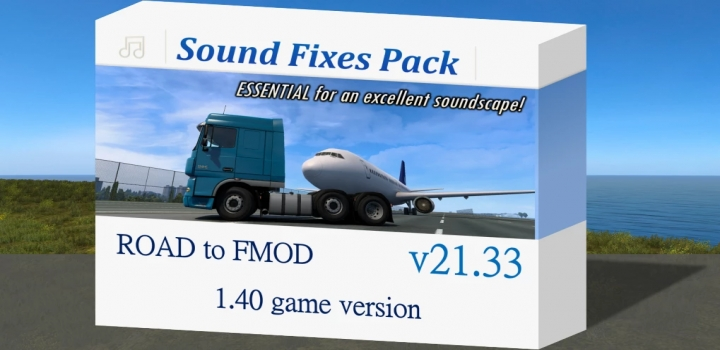 Photo of Sound Fixes Pack V21.33 ETS2 1.40