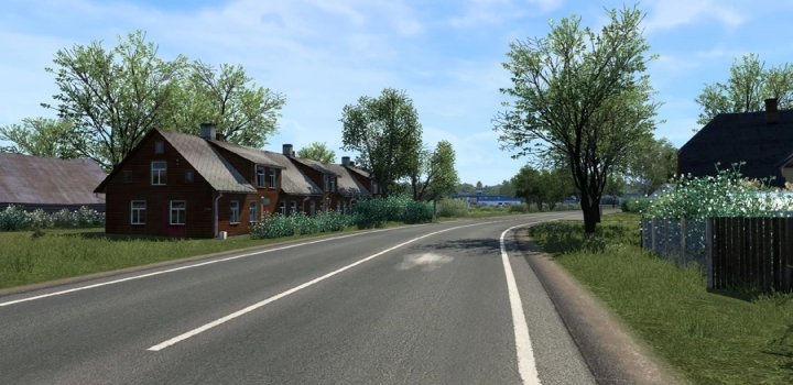 Photo of Spring Graphics & Weather V4.0 ETS2 1.40