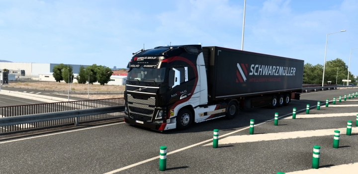 Photo of Volvo Fh16 Balkan Magnus Group Skin V1.0 ETS2 1.40