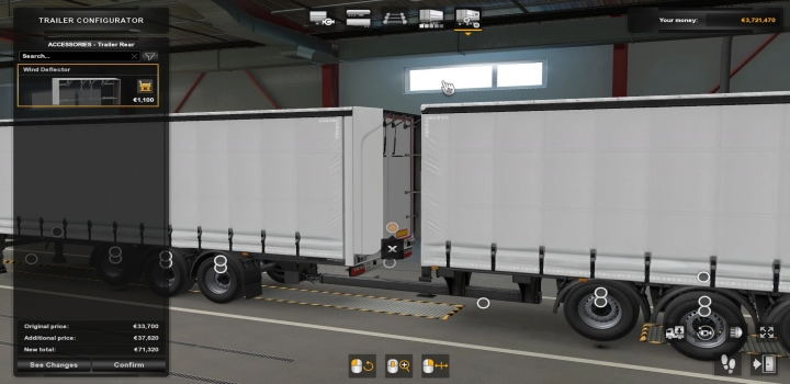 Photo of Winddeflector Extension V1.0 ETS2 1.40