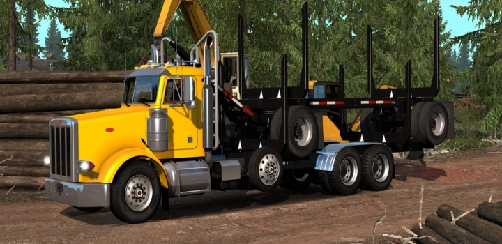 Photo of 3Xx Pnw Truck And Trailer Add-On V2.9 ATS 1.40