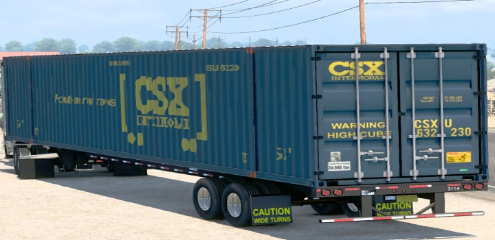 Photo of 53-Foot Container Ownable V1.2 ATS 1.40