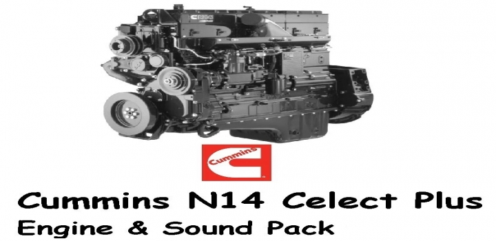 Photo of Cummins N14 Celect Plus Engines Pack V1.1 ATS 1.40