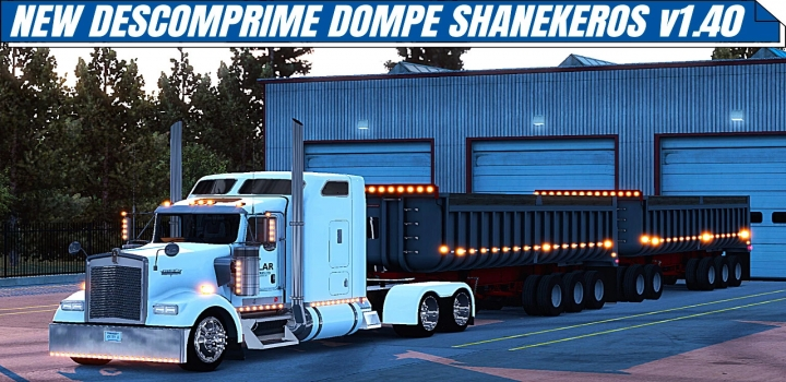 Photo of Descomprime Dompes Shanekeros Trailer ATS 1.40