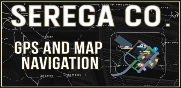 Photo of Gps And Map Navigation Mod V1.0 ATS 1.40