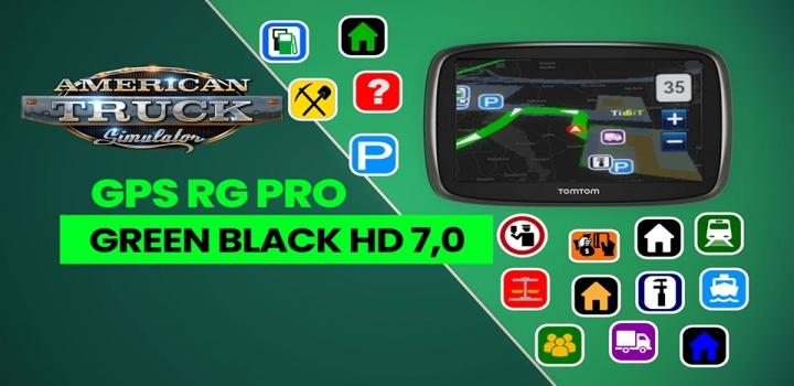 Photo of Gps Rg Pro Green Black Hd V7.0 ATS 1.40