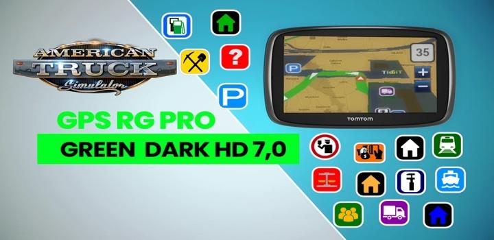Photo of Gps Rg Pro Green Dark Hd V7.0 ATS 1.40