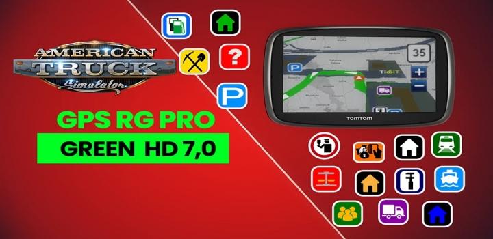Photo of Gps Rg Pro Green Hd V7.0 ATS 1.40
