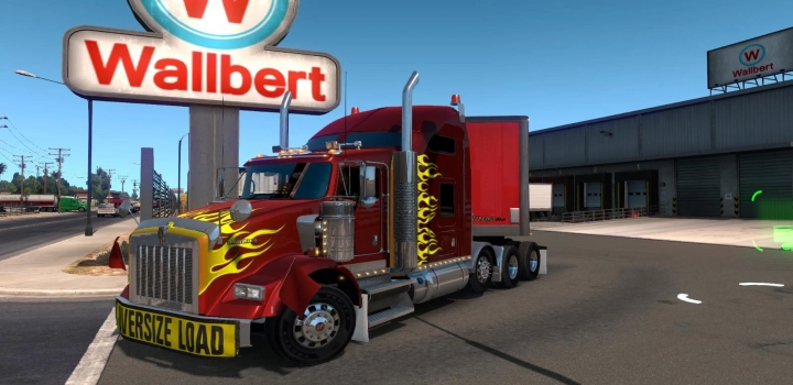 Photo of Gtm Kenworth T800 V1.2.40 ATS 1.40