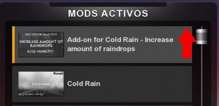 Photo of Increase Amount Of Raindrops Addon ATS 1.40