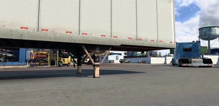 Photo of Rusty Scs Box Trailer V1.0 ATS 1.40