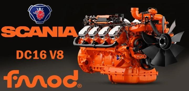 Photo of Scania Dc16 V8 ATS 1.40