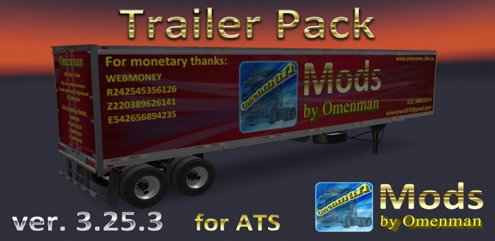 Photo of Trailer Pack ATS 1.40
