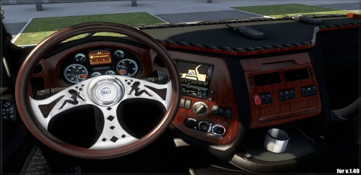 Photo of Steering Creations Pack V1.4 ETS2 1.40