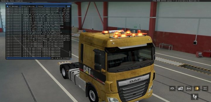 Photo of Bigt Britax Led Beacons Pack Stable Version ETS2 1.40