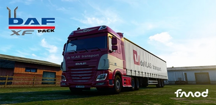 Photo of Daf Xf Open Pipe Pack Sound ETS2 1.40