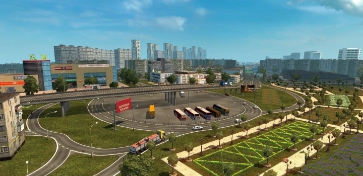 Photo of Eastern Express Map V11.9 ETS2 1.40