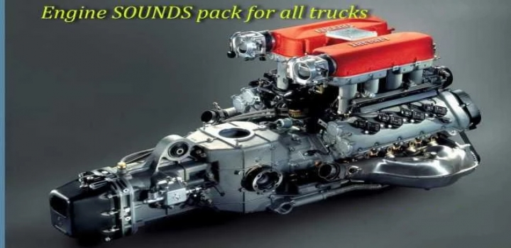 Photo of Engine Sounds Pack For All Trucks ETS2 1.40