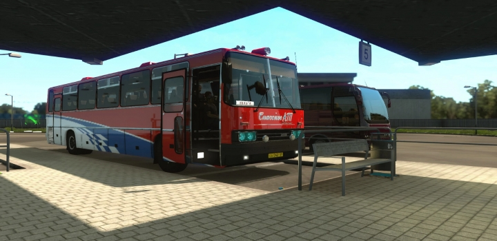 Photo of Ikarus 250-59 + Passengers V05.05.21 ETS2 1.40